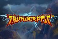 Игровой автомат Thunderfist от Гейминатор Слотс картинка логотип