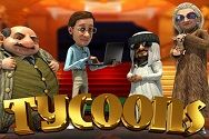 Автомат Tycoons от казино gaminatorslots com картинка логотип
