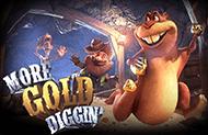 Играть в игровой автомат More Gold Diggin от казино gmslots зеркало картинка логотип